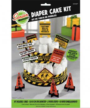 Senior Moments - Diaper Cake Kit