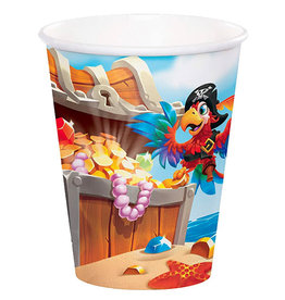 Creative Converting Pirate Treasure - 9oz Cups