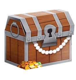 Creative Converting Pirate Treasure - Favor Boxes
