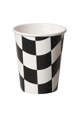 Creative Converting Black & White Check - Cups, 9oz