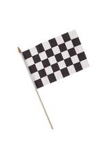 Creative Converting Black & White Check - Flag, Cloth