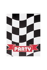 Creative Converting Black & White Check - Invitations