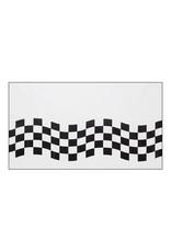 Creative Converting Black & White Check - Tablecover 54x102