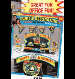 Forum Cubicle Decoration Kit - Retirement