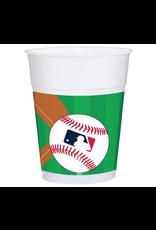 Major League Baseball Plastic Cups, 16 oz.