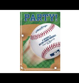 Rawlings™ Baseball Postcard Invitations