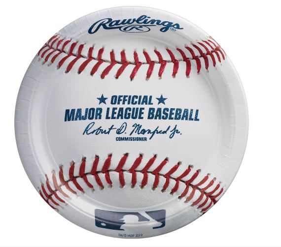 """Rawlings™ Baseball Round Plate, 7"""""""