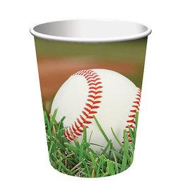 Creative Converting Sports Fanatic - Baseball Cups, 9oz
