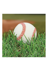 Creative Converting Sports Fanatic - Baseball Napkins, Beverage