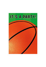 Basketball Fan - Invitations, Folded
