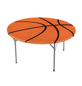Basketball Round Table Cover w/Elastic