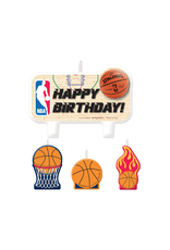 NBA Birthday Cake Candle Set