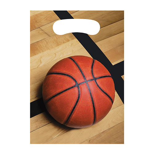 Creative Converting Sports Fanatic - Basketball Loot Bags