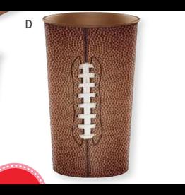 Creative Converting Football - Plastic Favor Cup