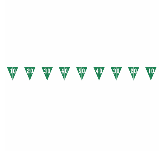 Football Pennant Banner