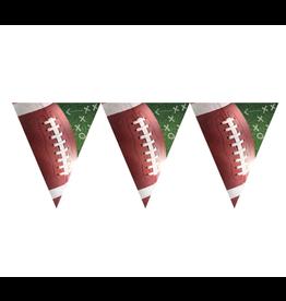 Football Plastic Pennant Banner