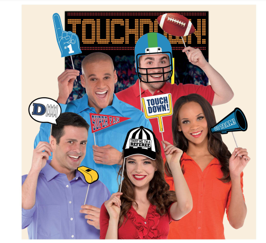 Game Day Photo Props Kit