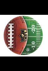 "NFL Drive 7"" Round Plates"