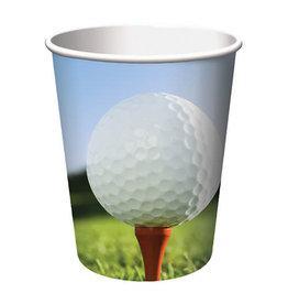 Creative Converting Sports Fanatic - Golf Cups, 9oz