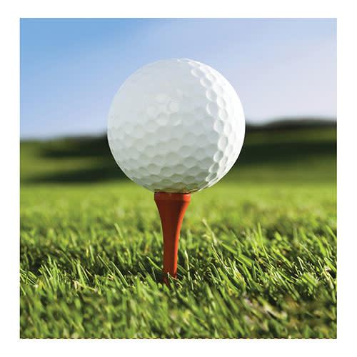 Creative Converting Sports Fanatic - Golf Napkins, Beverage