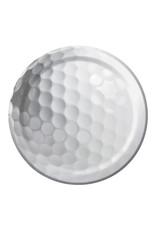 "Creative Converting Sports Fanatic - Golf Plates, 7"" Dessert"