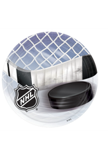 """NHL Ice Time! 9"""" Plates"""