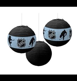 NHL Ice Time! Paper Lanterns