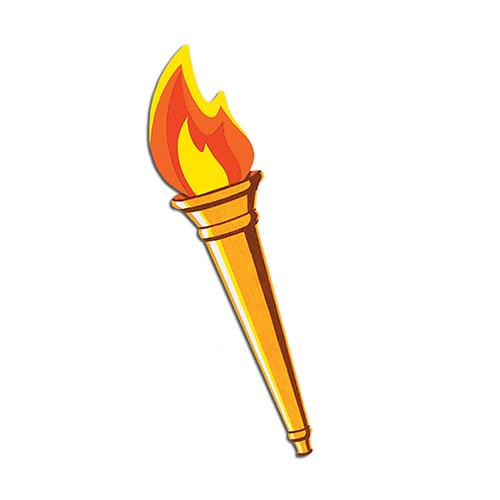 Beistle Cutout - Torch