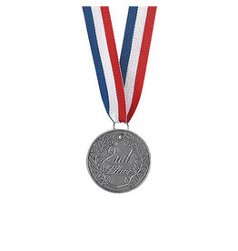 FUN EXPRESS Metal Medallion - 2nd Place Silver