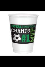 Goal Getter Plastic Cups, 16 oz.