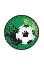 """Goal Getter Round Plates, 7"""""""