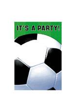 Soccer Fan - Invitations, Folded