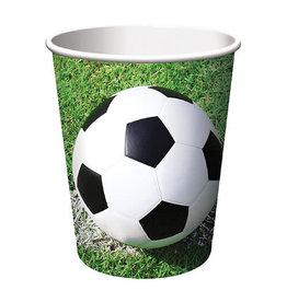 Creative Converting Sports Fanatic - Soccer Cups, 9oz