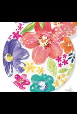 "Creative Converting Brilliant Meadow - 7"" Plates"