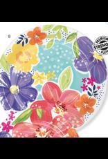 "Creative Converting Brilliant Meadow - 9"" Plates"