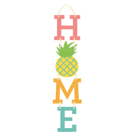 Home Pineapple Hanging Sign