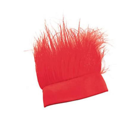 FUN EXPRESS Crazy Hair Headband - Red