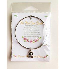 Popcorn Tree Mia Maid Charm Bracelet