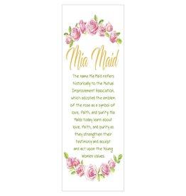 Popcorn Tree Mia Maid Bookmarks (Illustration), 6ct