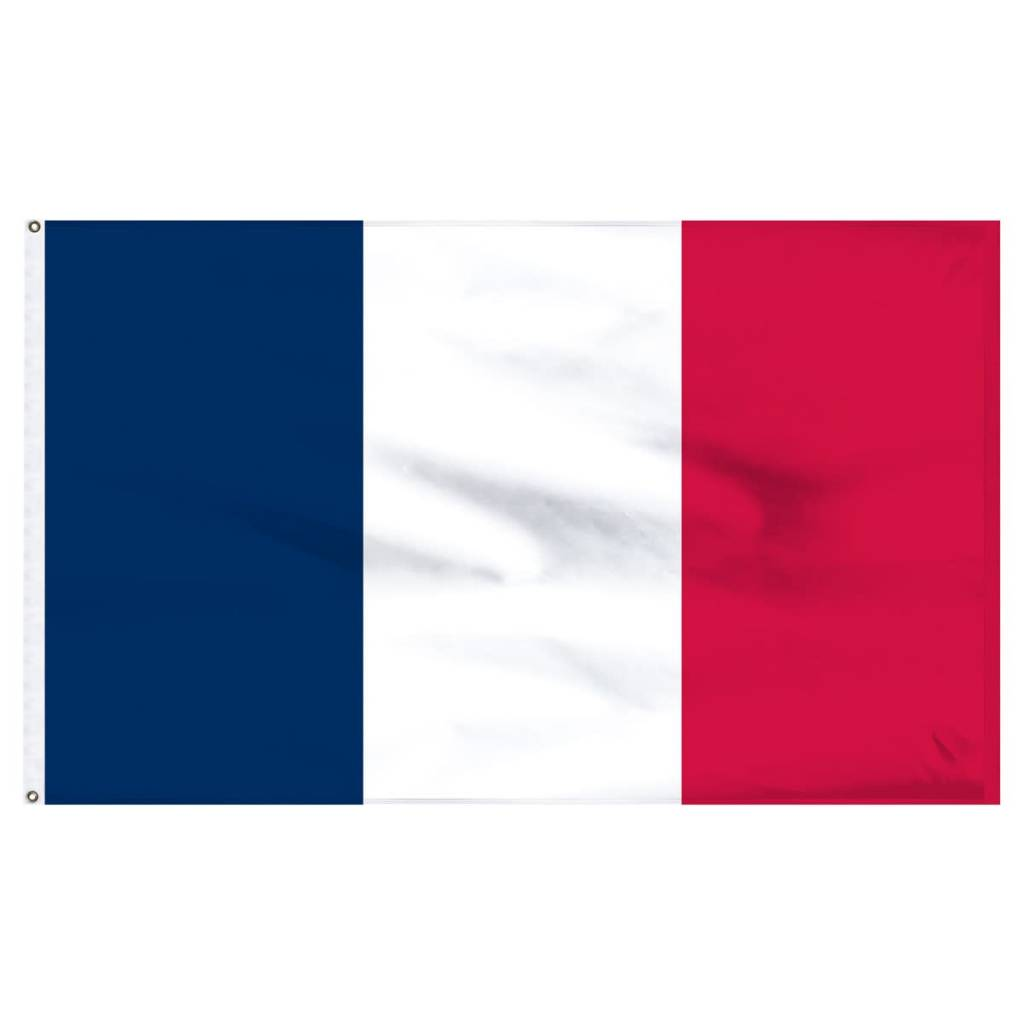 Popcorn Tree Flag - France 3'x5'