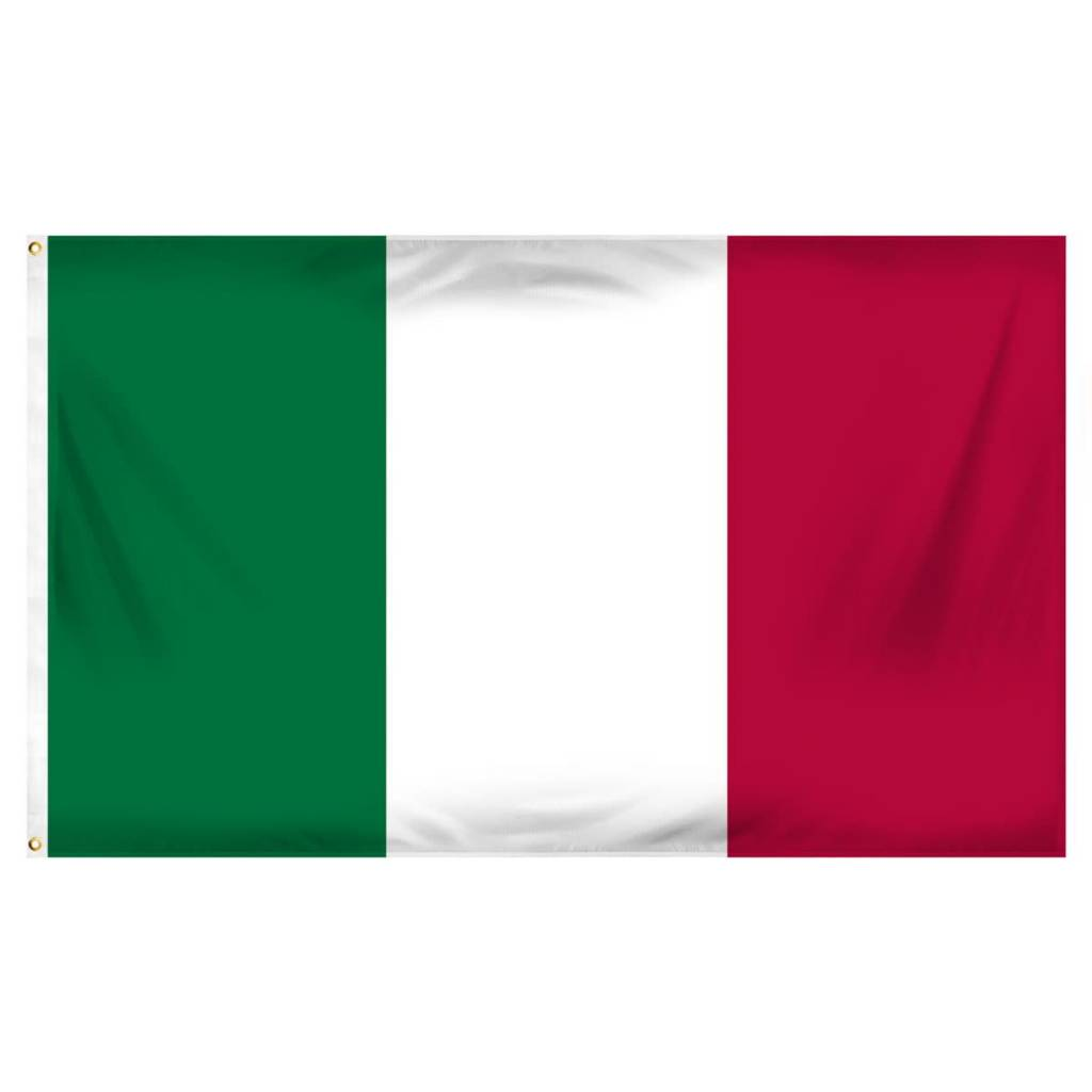 Popcorn Tree Flag - Italy 3'x5'