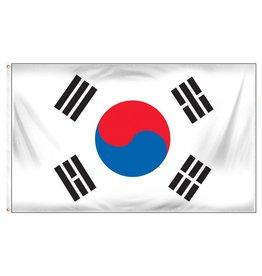 Popcorn Tree Flag - So Korea 3'x5'