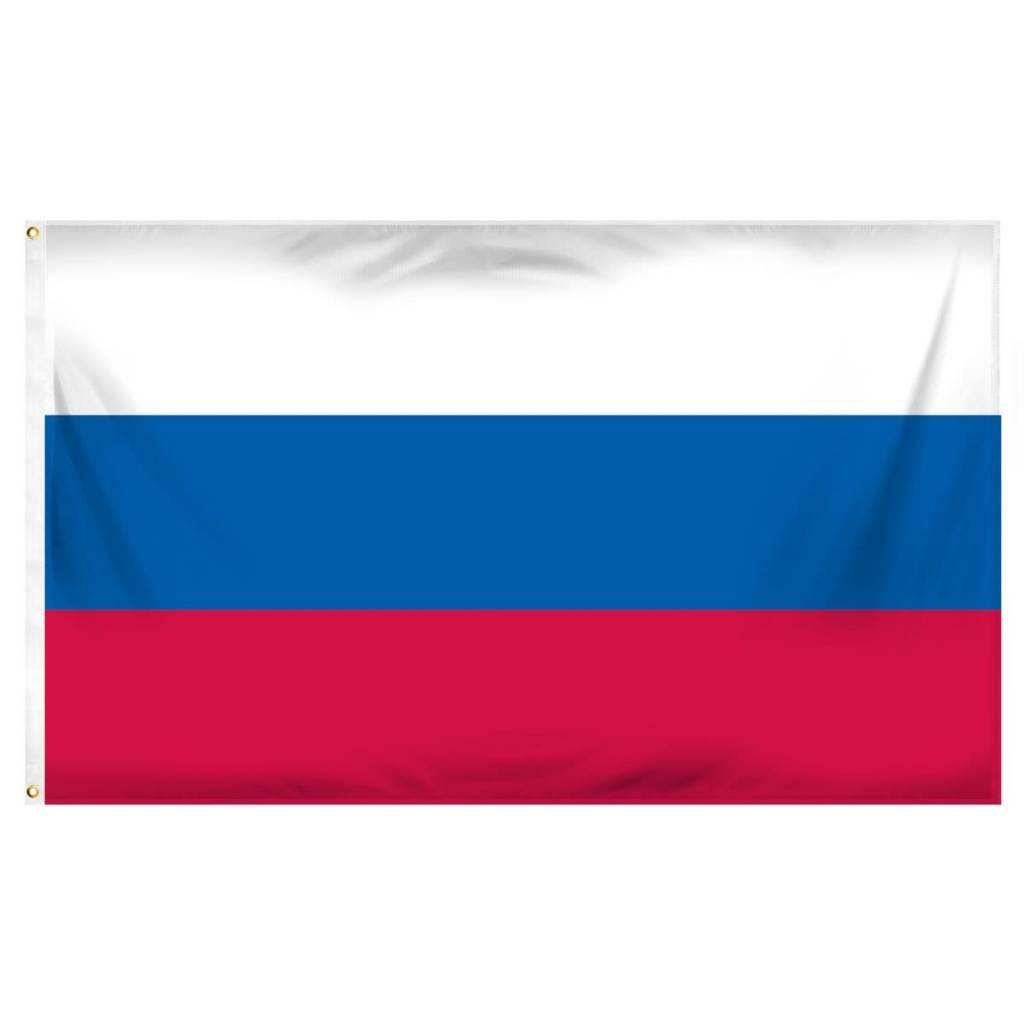 Popcorn Tree Flag - Russia 3'x5'