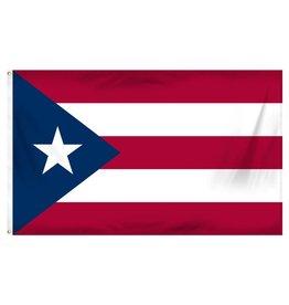 Popcorn Tree Flag - Puerto Rico 3'x5'