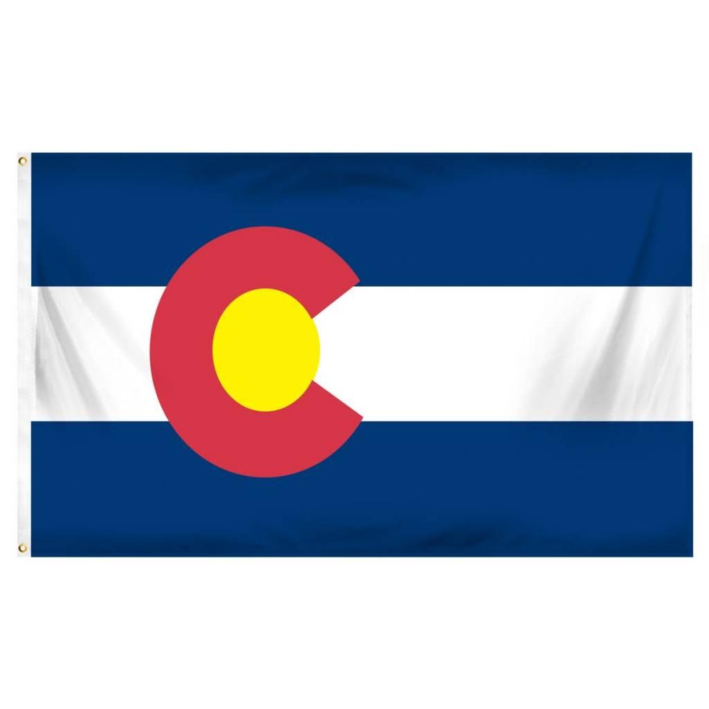 Popcorn Tree Flag - Colorado 3'x5'
