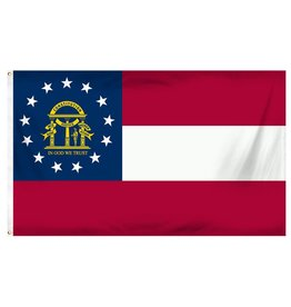 Popcorn Tree Flag - Georgia 3'x5'