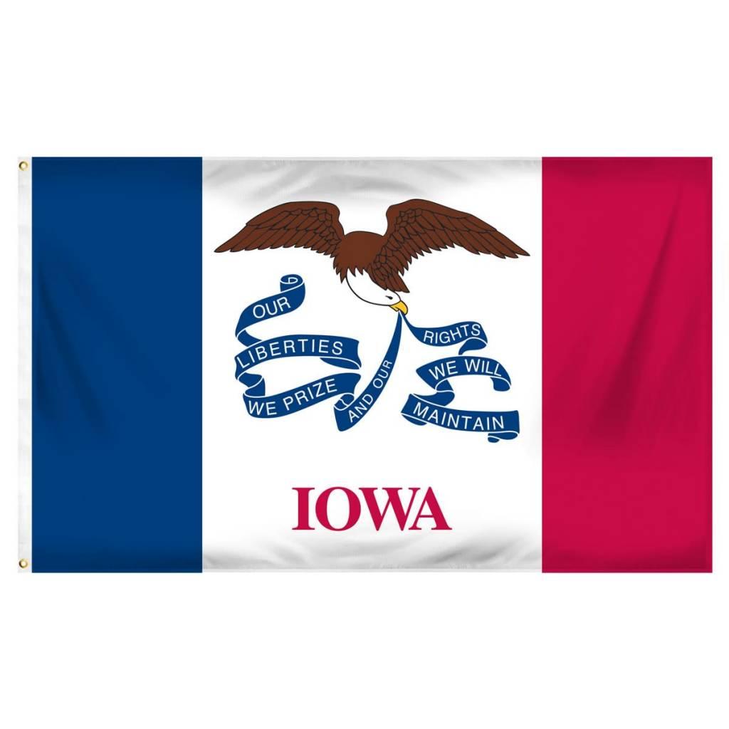 Popcorn Tree Flag - Iowa 3'x5'