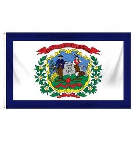 Popcorn Tree Flag - West Virginia 3'x5'