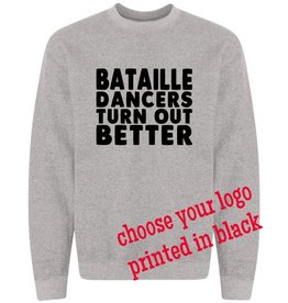 #104 Crewneck Sweatshirt - Bataille - Pick Your Logo