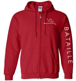 #100 Full Zip Hooded Sweatshirt - Bataille